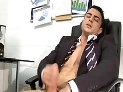 Business Stud Wanks and Cums