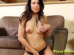 Anal Toying & skin diamond pee Fun For Brunette Teen