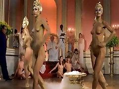 retro nude dance