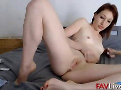 French erotic whore with pierced tongue and small tits