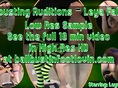 dector xxxx Auditions - Leya Falcon in Green Legwear Socks