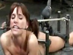 Compilation of Beautiful pornstar real dolls Cumming in Steel Bondage