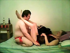 Fucking my girlfriend with a porn myhot