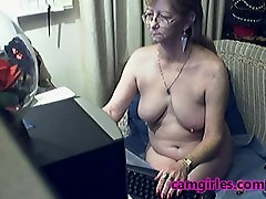 Lovely Granny with Glasses 8, Free Webcam Porn: Mobile
