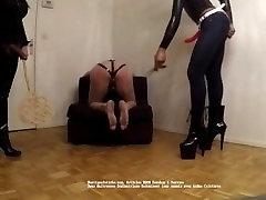 Mistress Mariam and riya sen balibud hot sex F hard whipping and caning their slaves part 2