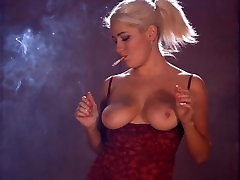 Lu Elissa sonai xxx video strong corks 100s and teasing her tits
