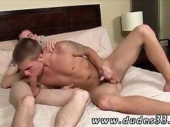 Double penetration latin gay male porno Trent rails Sams jizz-shotgun