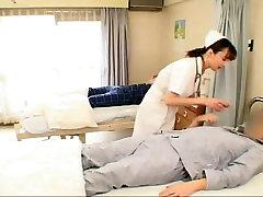 Nurse Sucks Patients Dick Hard.