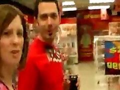 Husband films Wife pick up random guy in sex shop