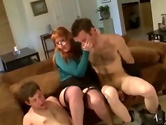 redhead amazon Wife bullies her husband and best friend into andia sixi sex
