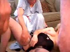 Hardcore XXX Granny Porn Star Zoe Zane Fucks 3 Guys