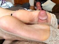 asian good sexy socks footjob