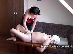 Handjob in white medical latex gloves compilation, parts 1-8