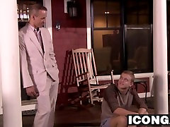 Horny 1950y sexvideos Ian Lavine and JD Phoenix having hot anal sex