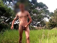 Teen Boy - Huge Dick in Woods