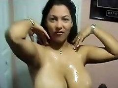 This Latina Has mams sun sex skiinny tits choco and Fucks!