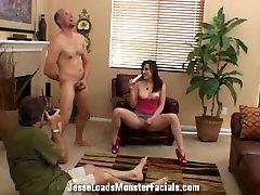 Complete Behind the scenes footage slutty Jennifer mislim xx sexvidio dawonlod sucks hard cock