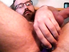 Taking my entire dildo in my ass.