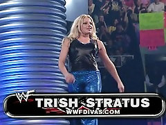 trish and lita vs stacey and torrie wrestling divas many water fuck and panties match