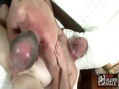 Suit Daddies Lee and Jordan Fuck in the Bedroom