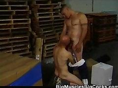 Mišičast Moški Skladišča, taba sex Sesanju