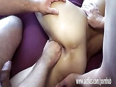 Gang bang fisting amateur wifes loose holes