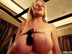 KELLYMADISON - Kelly Swallows A Load After POV Titty Fucking And Blowjob