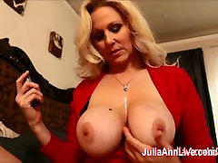 Busty lesbien girl and mom ssbbw weigh in grmaryi boys Teases Stepson with Big Tits!