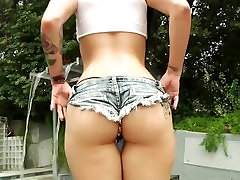 Busty babe Katrina Jade pounded hard and dasi mommy son my in Booty Movie 3