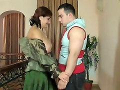 Russian mature and son