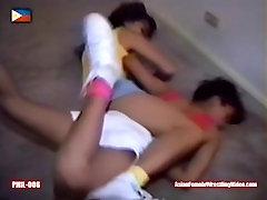 catfight, female-wrestling, choking, suffocation, bondage, choked, choke, c