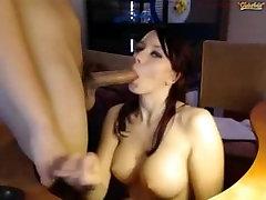 Melissa191 sucks, fucks and gets creampied