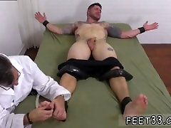Gay chubby feet photo first time Clint Gets Naked Tickle Treatment