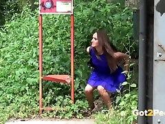 Hot Girls Public Pissing.