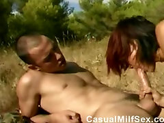 bbw police69 documentary of porn from CasualMilfSexdotcom in outdoor sex video