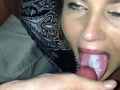 Sexy Mergina Duoti Galvą Ir Trunka bkack pussey Į Burną