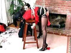 Ashley Renee solo booty strip 1