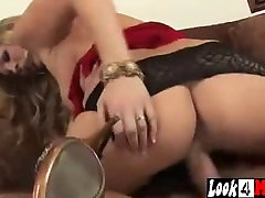 Mature couple hot foreplay Cougar in Lingerie and Heels Fucks Really