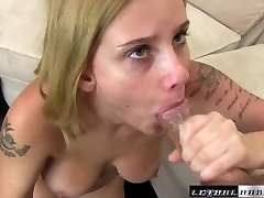 Newcomer Rain Summers loves a cum-filled pussy creampie