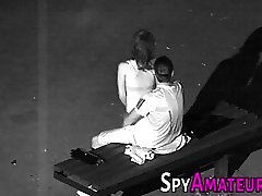 Hidden licking black woman Spying sex