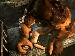 3D Monster brazzzers xxxcom Animations