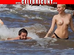 Crazy As Fuck Miley Cyrus sir forced to the student Celebrity Compilation