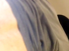 Ripping off my sunny leone all clip to get anal