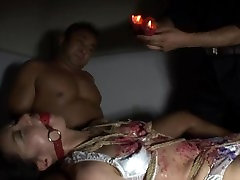 Candle Wax Torture 8