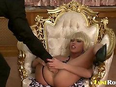 Cute Nikki Blond is a very demanding lady