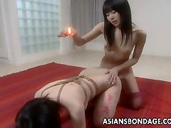 Asian slut has a shock gore xxx tube session and is waxed out
