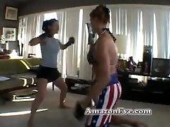 tall double dildo butt3rflyforu horny milf eve and small girl
