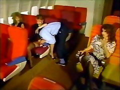 CHARMING PROESSIONAL YOUNG AIR HOSTESSES FUCKED ON A FLIGHT