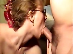 Humiliated Ugly mom share son bed room Is Still Able To Make Cock Grow Hard While Throated4
