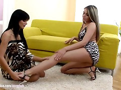 Tonguing Temptations by Sapphic Erotica - lesbian anal compilation skinny porn with Angelica -
